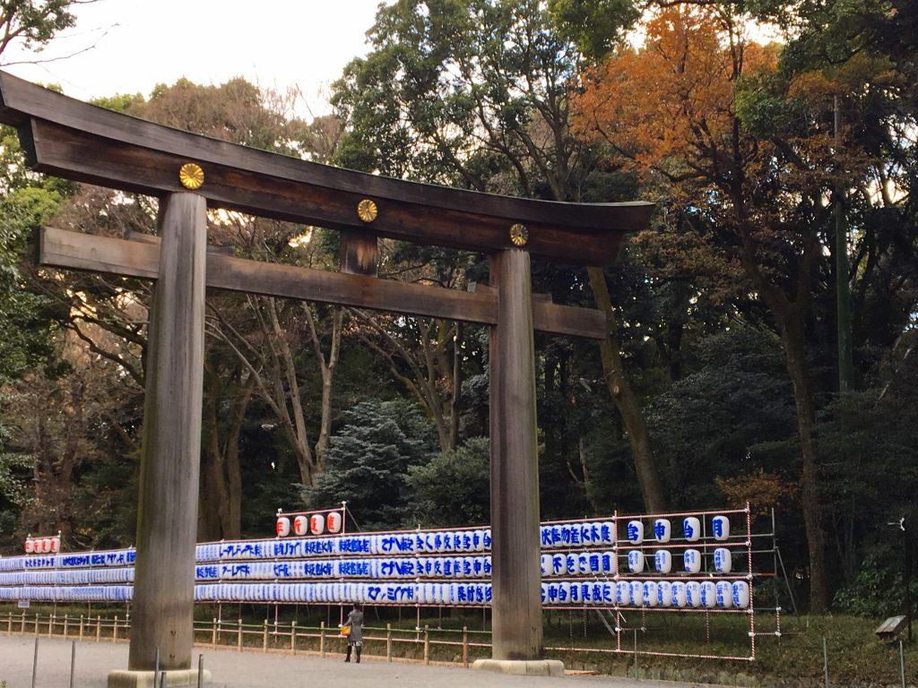 Walking around the Meiji Shrine