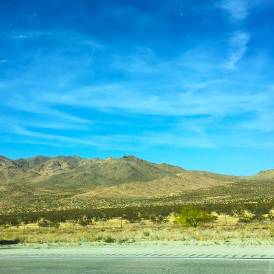 Landscapes on the way to Vegas