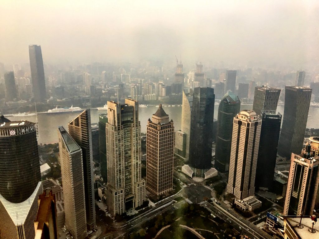 View from Cloud 9, Shanghai