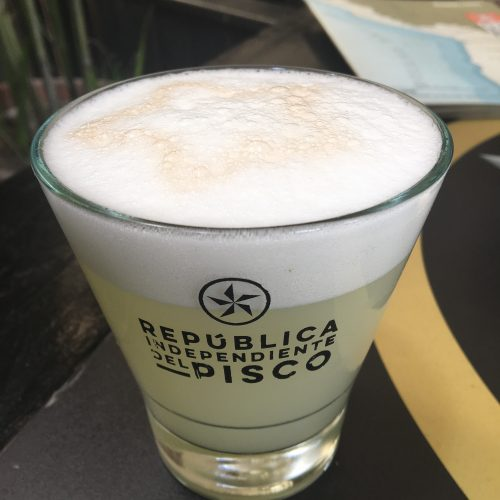 Chipe Libre Pisco Sour
